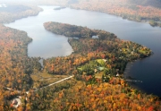 Big Moose Lake Aerial Photo