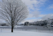 Old Forge Pond in Winter